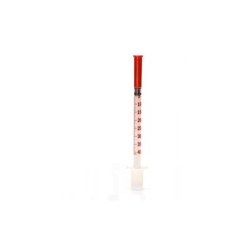 BD Strzykawka insulinowa 1ml z igłą 0,3x8mm/30G (10szt)