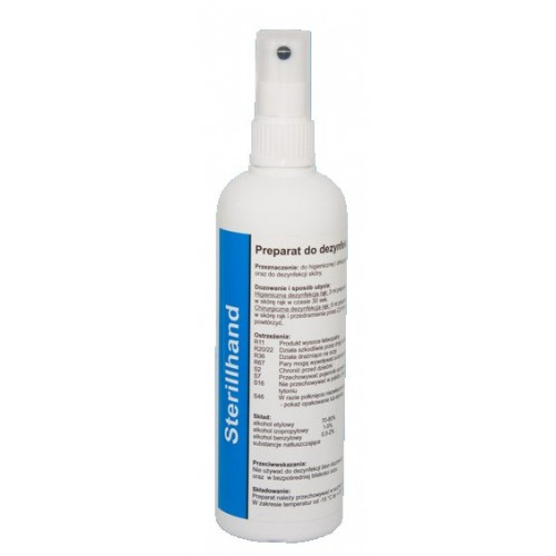 STERILLHAND Preparat do dezynfekcji rąk i skóry (200ml)