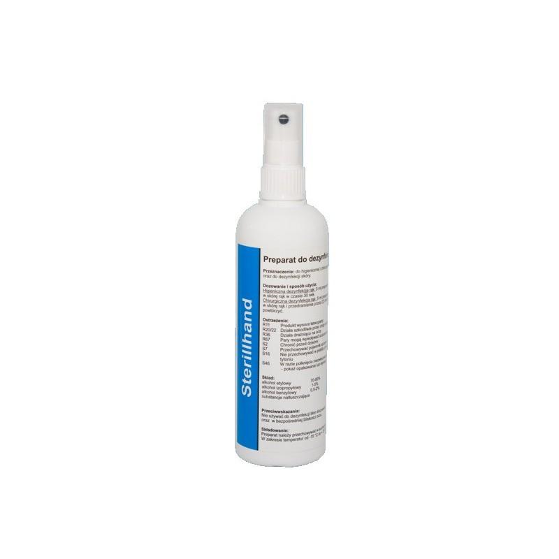 STERILLHAND Preparat do dezynfekcji rąk i skóry (170ml)