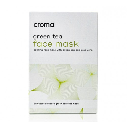 Princess Green Tea Mask ( 8szt )